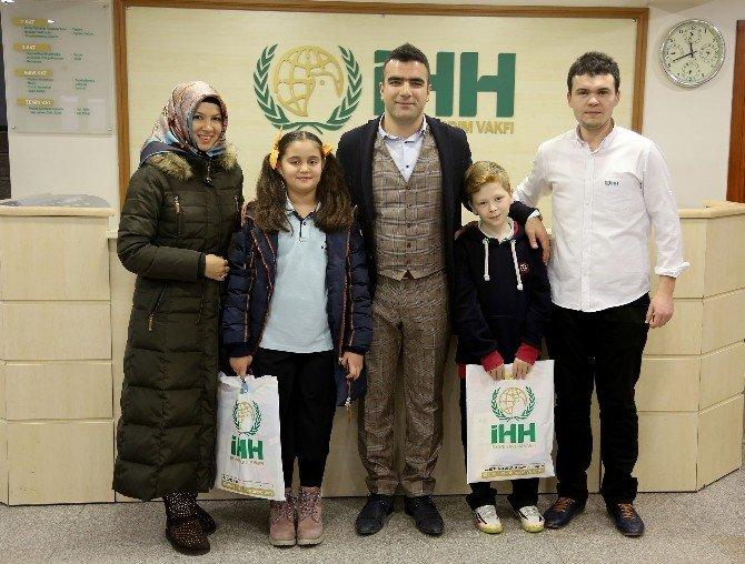 İhlas Koleji Öğrencileri Suriye İçin Yardım Eli Uzattı