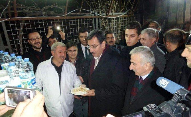 Bakan Tüfenkci'nin Malatya Ziyaretleri