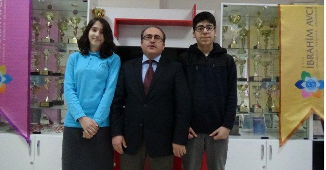 Iğdır'da TEOG birincileri İbrahim Avcı Ortaokulundan çıktı