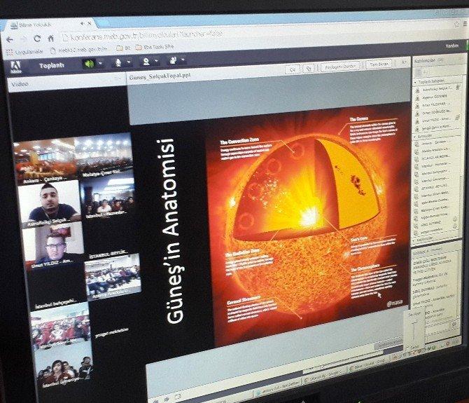 Iğdırlı Öğrenciler Sordu, NASA Görevlileri Cevapladı