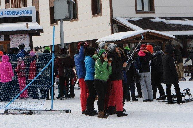 Kayakseverler, Ilgaz Dağına Akın Etti