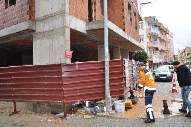 Milas'ta İş Kazası: 1 Yaralı