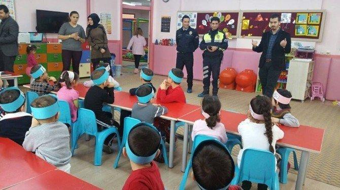 Karaman'da Genç Memur-sen, Anasınıfı Öğrencilerine Meslekleri Tanıttı