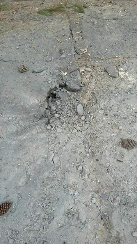 Nazlı Ömer Çetin İlkokulu'nda hasar meydana geldi