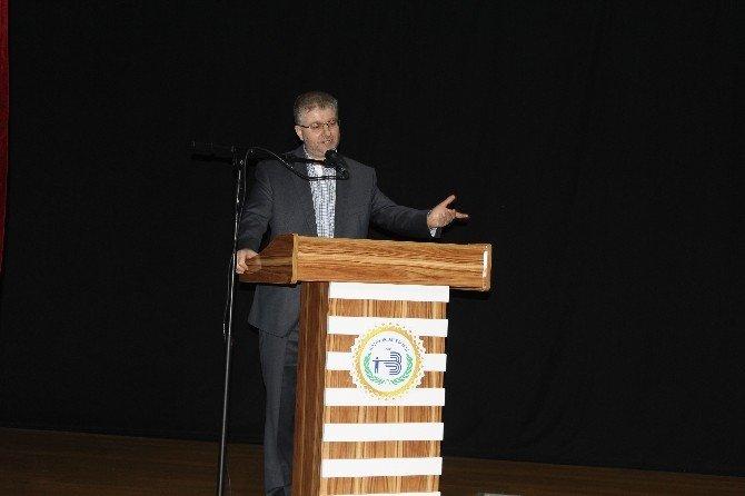 """Bozüyük'te """"Kültürümüzde Hadis Ve Sünnet"""" Konulu Konferans"""
