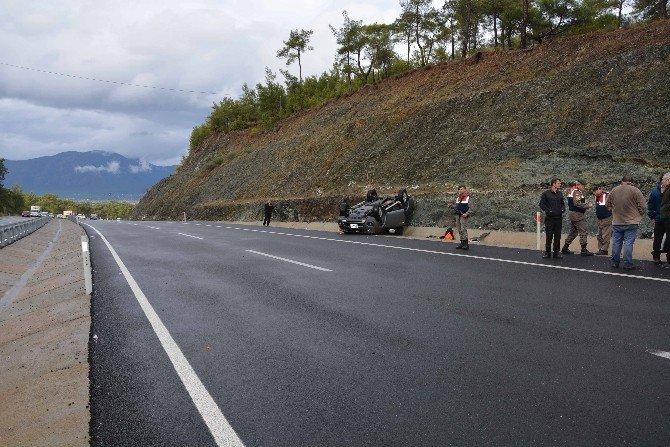 Köyceğiz'de Trafik Kazası, 2 Yaralı
