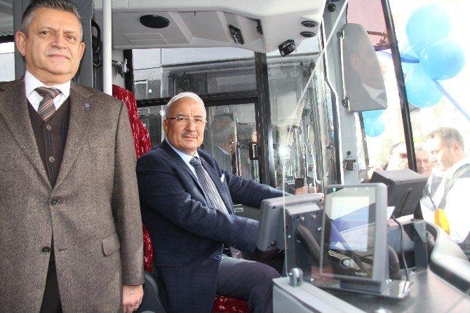 Mersin'de Belediye Otobüsü Filosuna Taze Kan