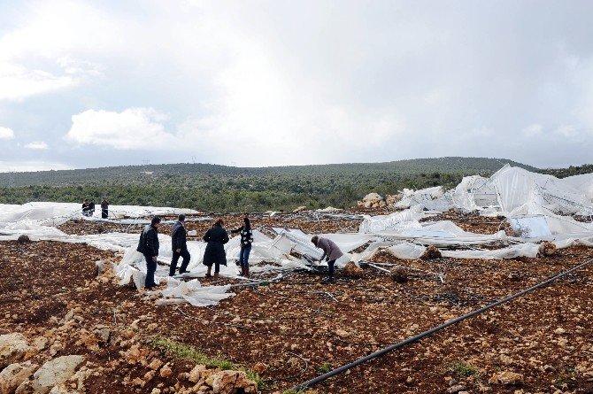 Erdemli'de Fırtına
