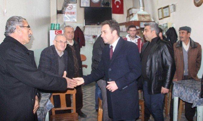 Milletvekili İshak Gazel'den Başkan Fatih Çalışkan'a Ziyaret