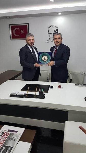 MİSİAD, BİK Müdürü Özer Akoğlu'nu Ziyaret Etti