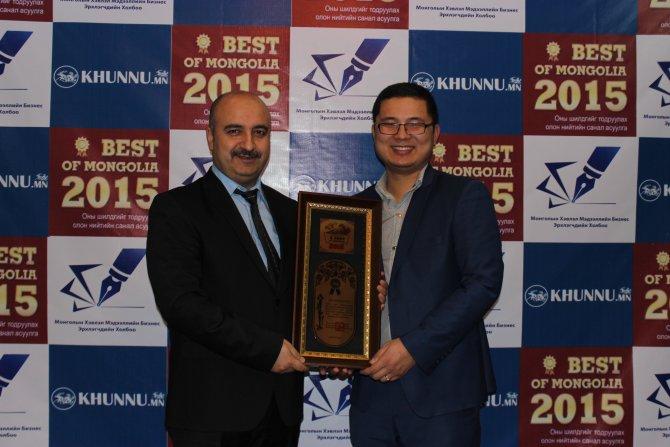 """Moğolistan'da """"2015'in enleri"""" seçildi"""