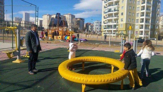 Niğde'ye Yeni Nesil Çocuk Oyun Parkları