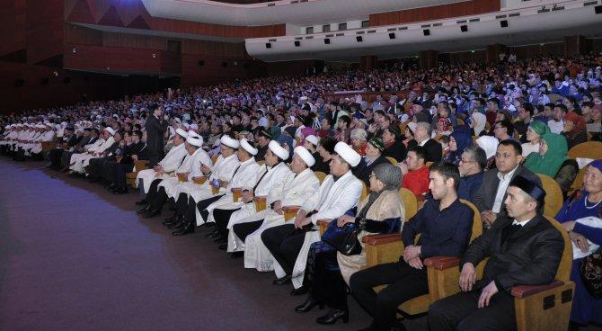 Mevlid Kandili Kazakça ilahilerle kutlandı