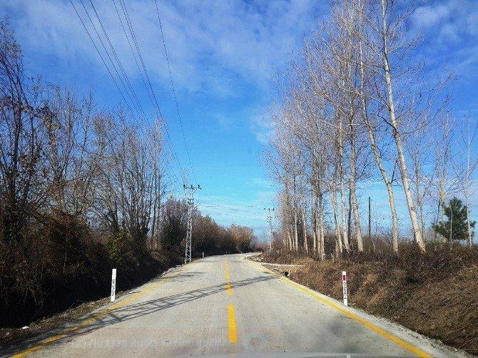 Büyükşehir'den Çarşamba'da Yol Çalışmaları