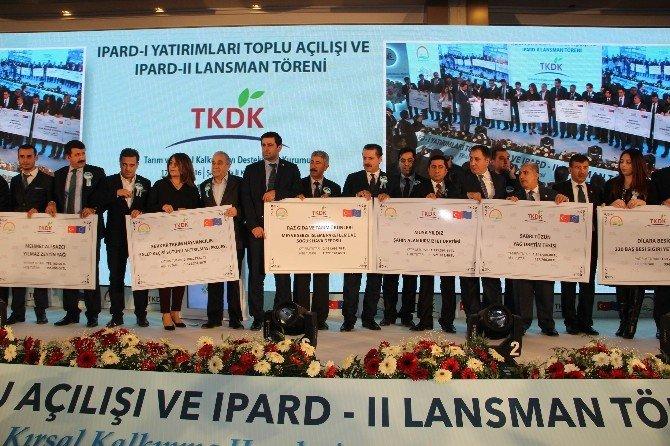 Şanlıurfa'da Ipard I Yatırımlarıyla Hayata Geçirilen 45 Tesisin Açılışı Yapıldı