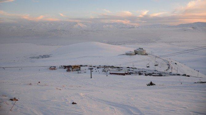 Nemrut Kayak Merkezi'nde Sezon Açıldı