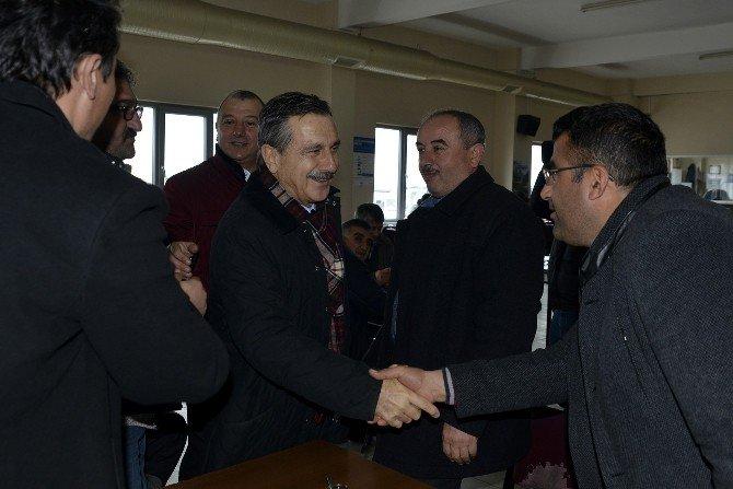 Başkan Ataç, Taşıyıcılar İle Bir Araya Geldi