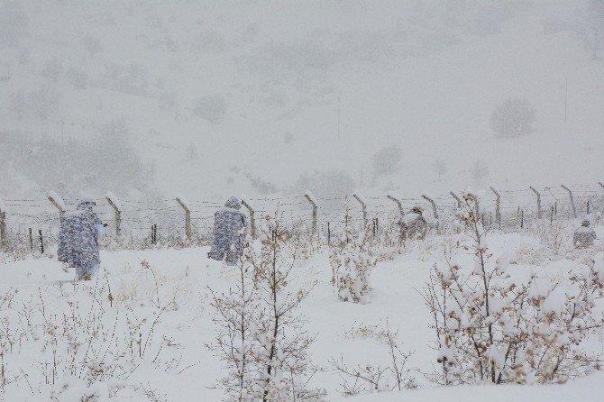 Komandolardan Kutup Soğuğunda Tatbikat