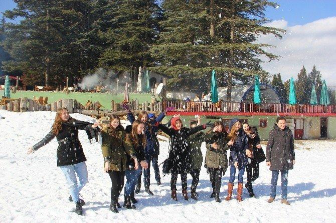 Bosnalı Öğrenciler Türk Oyunlarıyla Eğlendi