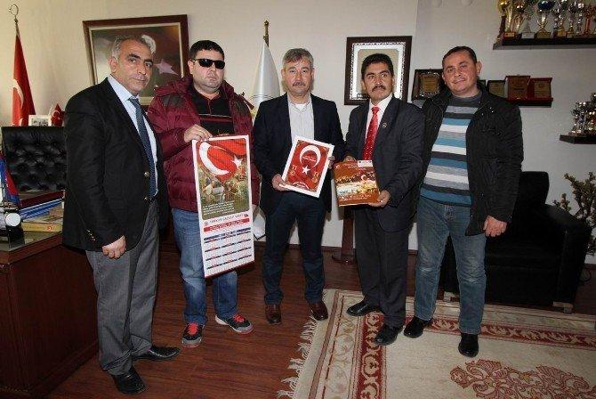 Gaziler Vakfı'ndan Başkan Yaralı'ya Ziyaret