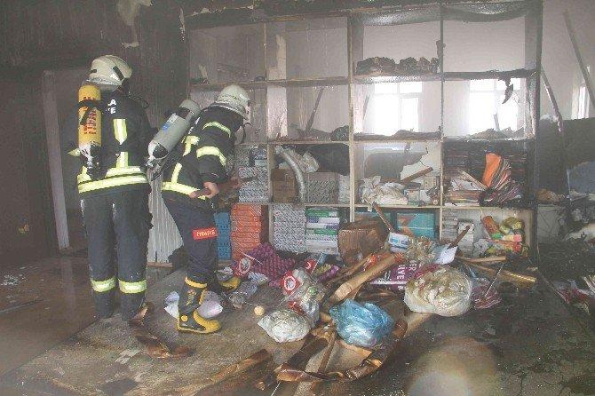 Fethiye'de Anaokulunda Yangın Paniği