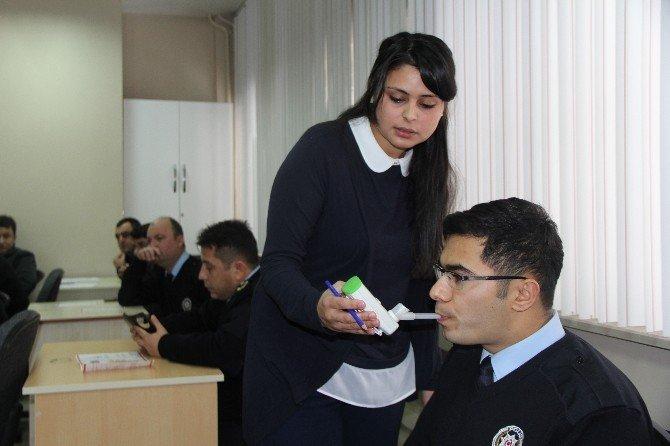 Yozgat Emniyeti Personeline Sigaranın Zararları Anlatıldı