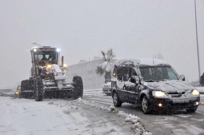 Ereğli'de kar yağışı için tüm tedbirler alındı