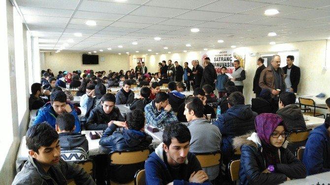 İmam Hatipliler Arası Satranç Turnuvası Düzenlendi