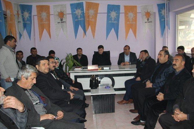 AK Parti'den Silvan'a Ziyaret