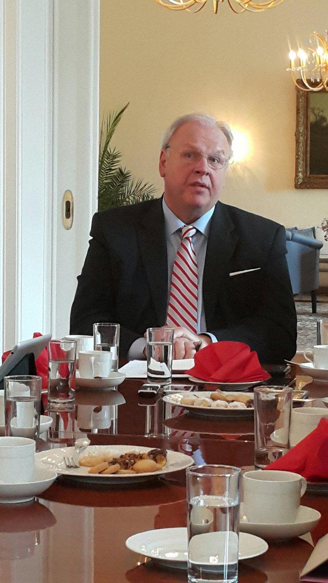 Alman Büyükelçi: Avrupa, mülteci krizini Türkiye'nin omzuna yüklemek istemiyor