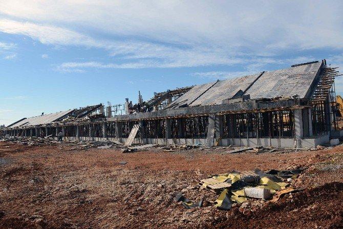 Antalyaspor Tesisleri Hızla Yükseliyor