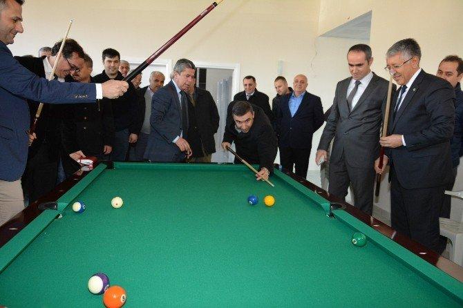 Antalya DSİ Spor Tesislerinin Açılışı Yapıldı