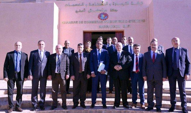 ATSO Meclis Üyelerinin Fas Çıkarması