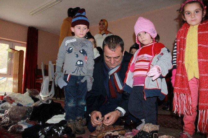 """Başkan Sağıroğlu'ndan """"Çocuklarımız Üşümesin"""" Projesine Destek"""