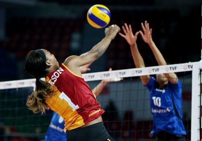 Galatasaray: 3 - Volley Köniz: 0
