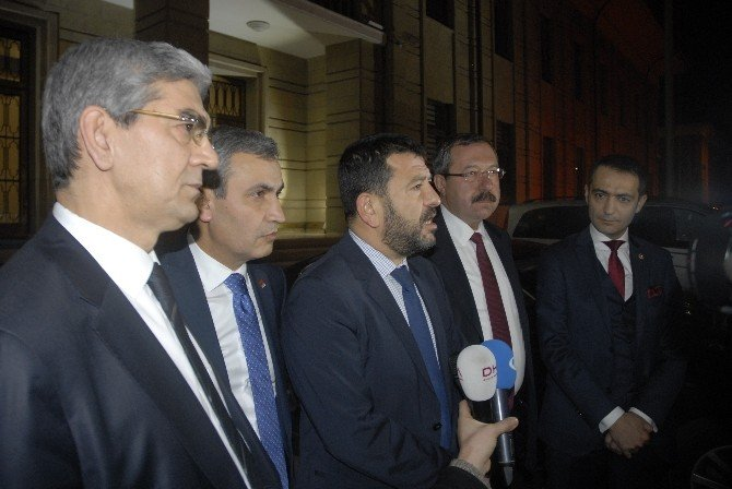 CHP Heyetinden Vali Tuna'ya Külliye Ziyareti