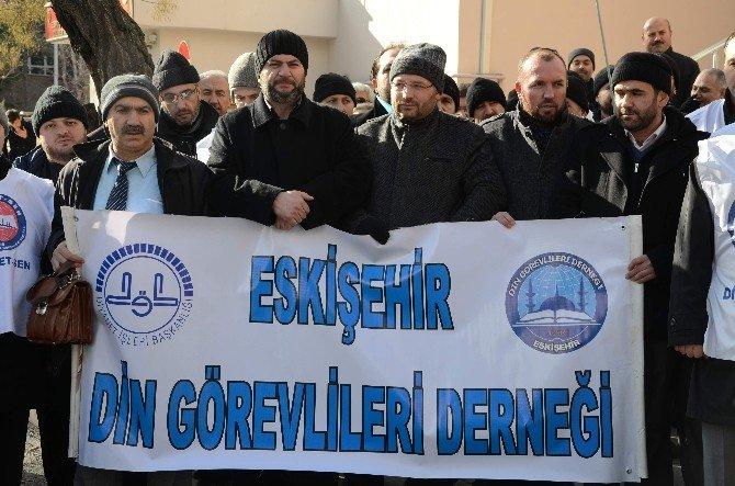 Diyanet'e Yapılan Saldırıları Protesto Ettiler