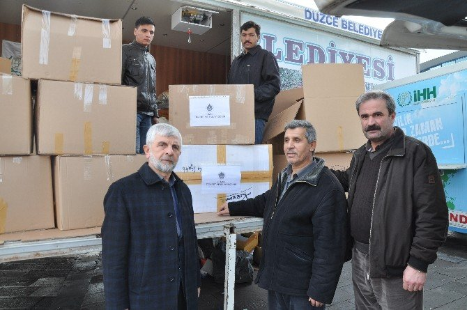 DTSO'dan Bayırbucak Türkmenleri'ne Yardım Eli