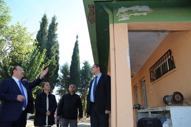 Kemer Mezarlığı İdare Binası Yenileniyor