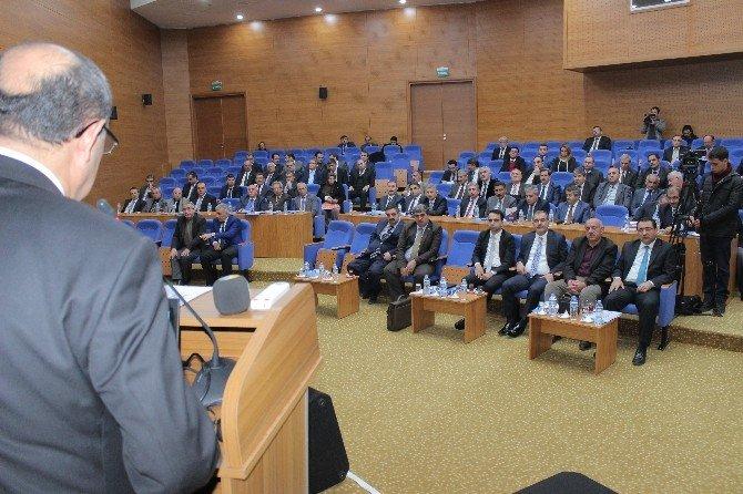 Elazığ İl Koordinasyon Kurulu 2016'nın İlk Toplantısını Yaptı