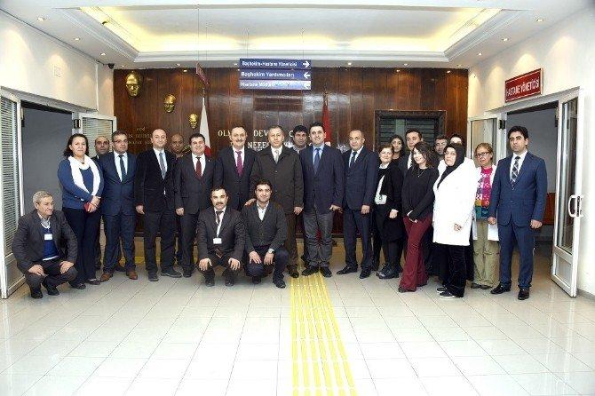 Vali Ali Yerlikaya Hastanede İnceleme Yaptı