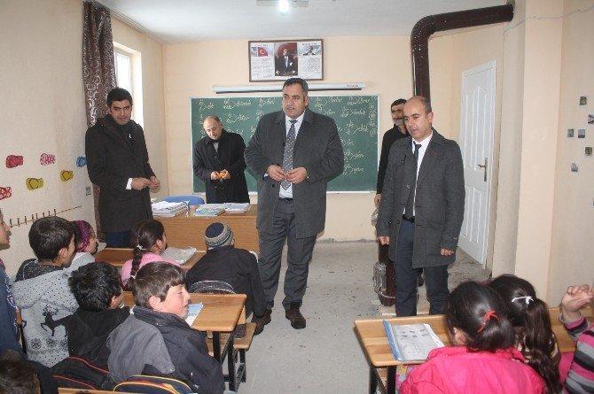 Müdür Bozyel Okulları İncelendi
