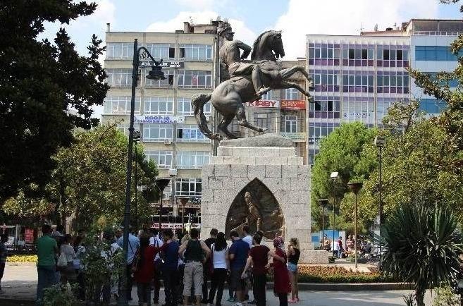Samsun'a 2015 Yılında 437 Bin 770 Turist Geldi