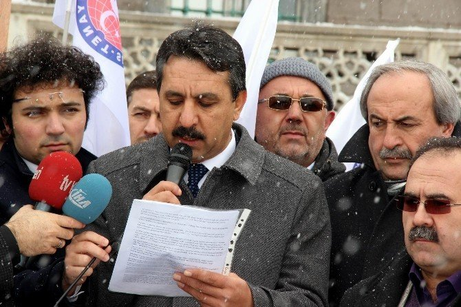 Diyanet-sen Kasyeri Kayseri Şube Başkanı İrfan Kaşıkçıoğlu: