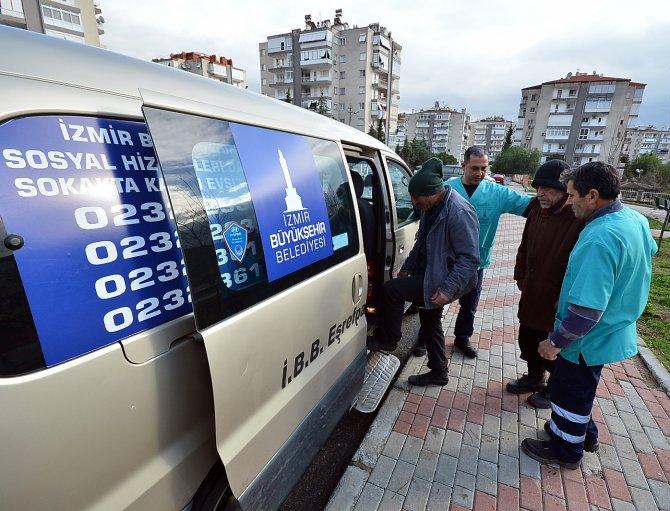 İzmir Büyükşehir, sokakta kalanları sıcak yuvada konuk ediyor