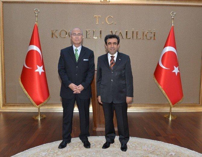 Japonya İstanbul Başkonsolosu'ndan Kocaeli Valisi'ne Ziyaret