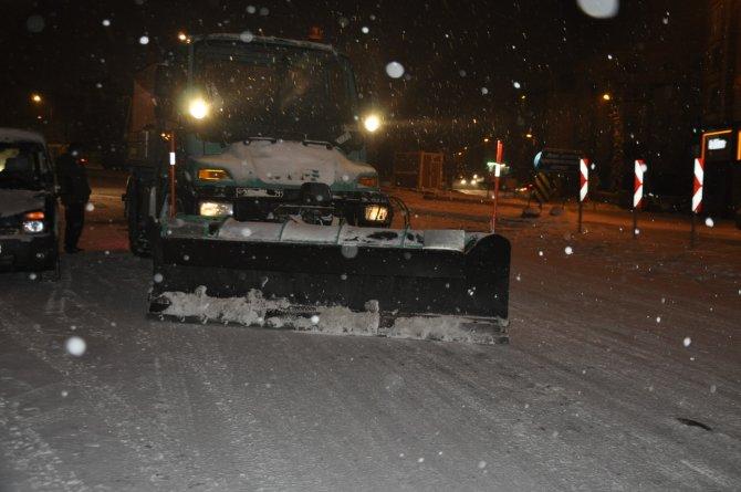 Kars'ta kar seferberliği