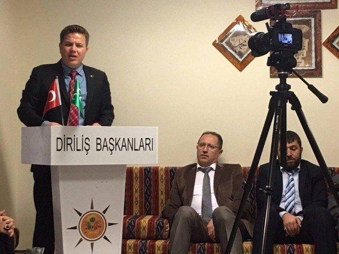 Diriliş Osmanlı Develi İlçe Başkanı Kılınç, Diriliş Osmanlı Genel Başkanı Hasan Türksel'i Ziyaret Etti