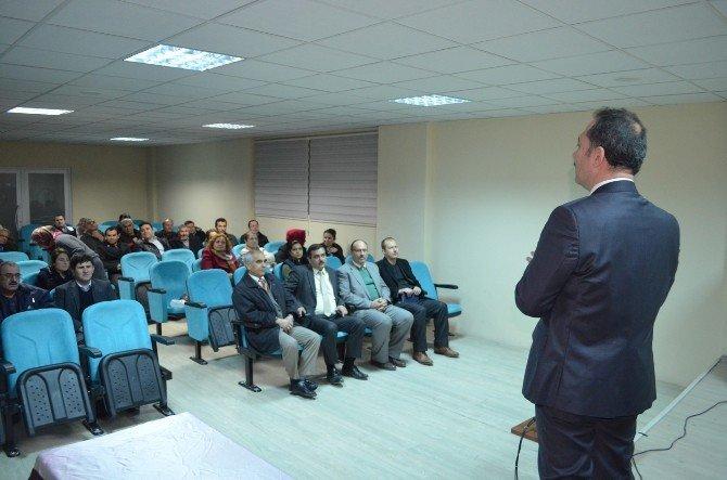 Milli Eğitim Personeline 'İş Sağlığı Ve Güvenliği' Eğitimi