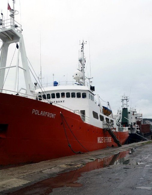 Samsun'da Litvanya Uyruklu Kaptan Gemide İntihar Etti